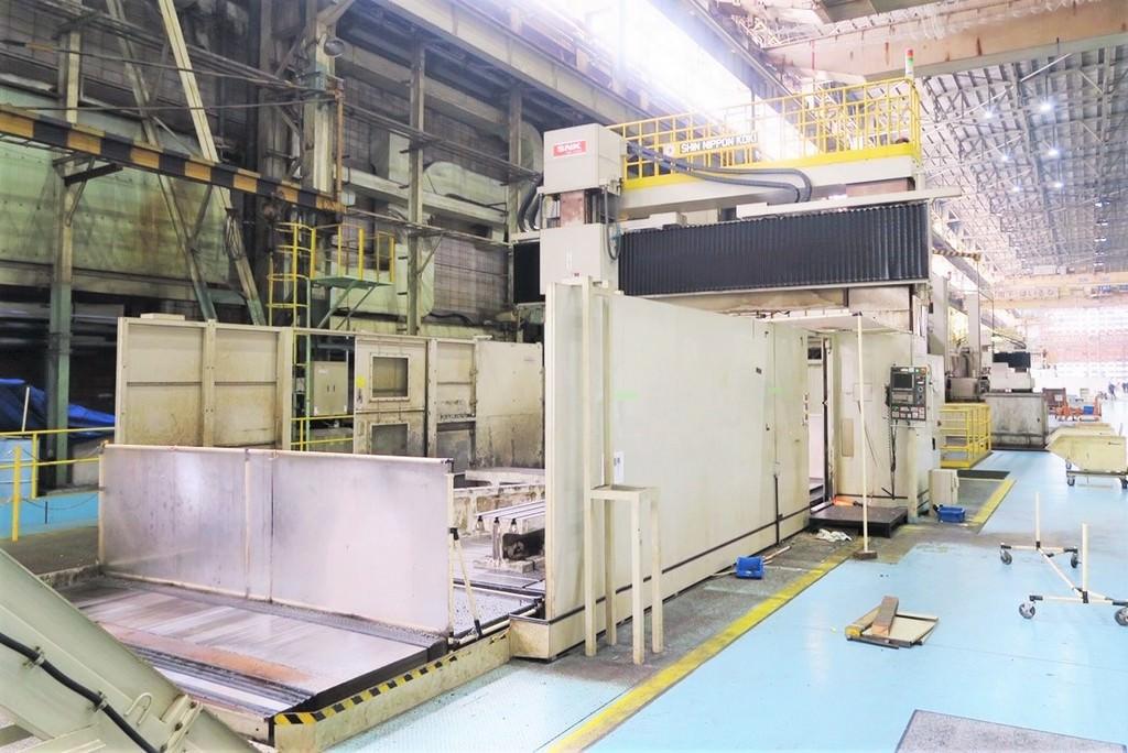 SNK RB-350F Double Column 5-Axis CNC Bridge Mill