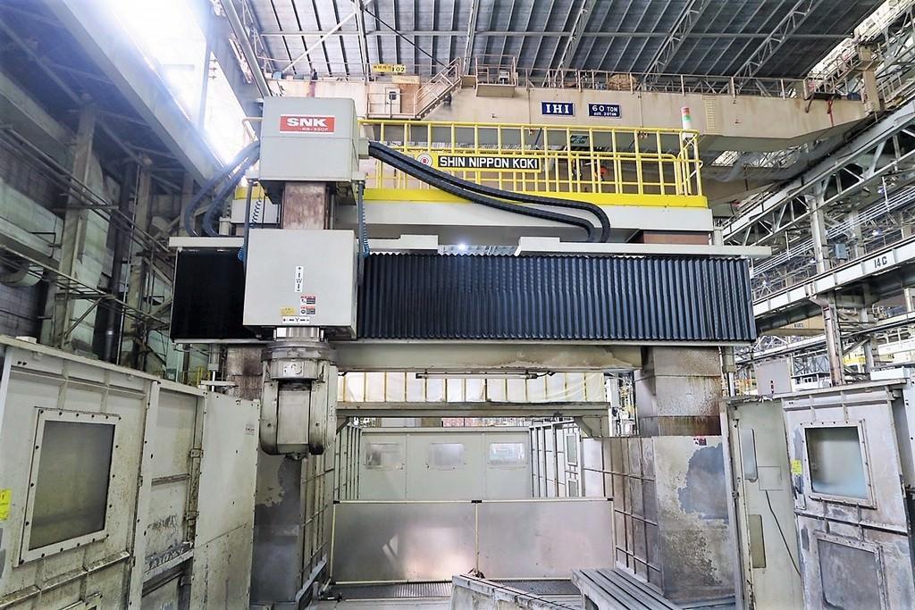 SNK RB-350F Double Column 5-Axis CNC Bridge Mill -29318a