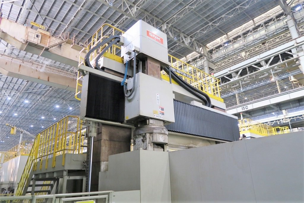 SNK RB-350F Double Column 5-Axis CNC Bridge Mill -29318b