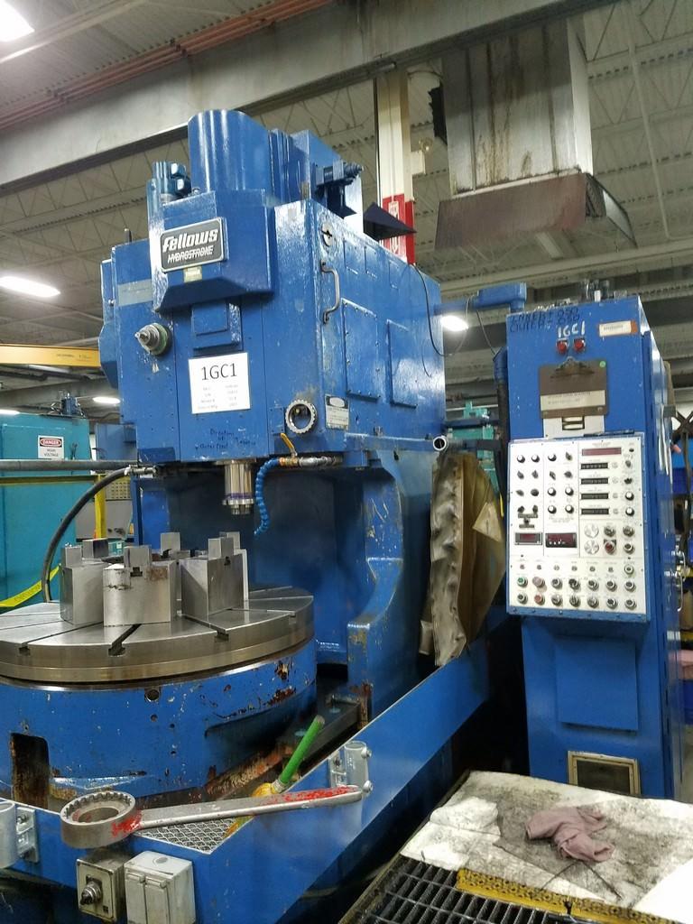 FELLOWS 50-8 Hydrostroke Gear Shaper-29364a