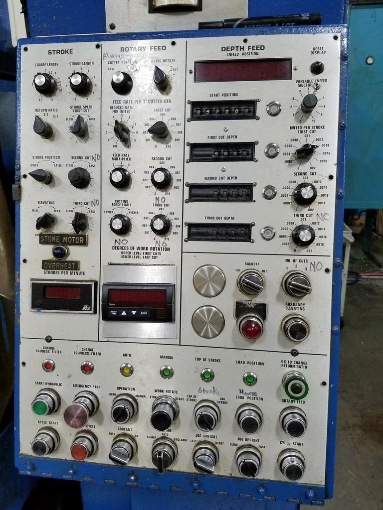 FELLOWS 50-8 Hydrostroke Gear Shaper-29364c