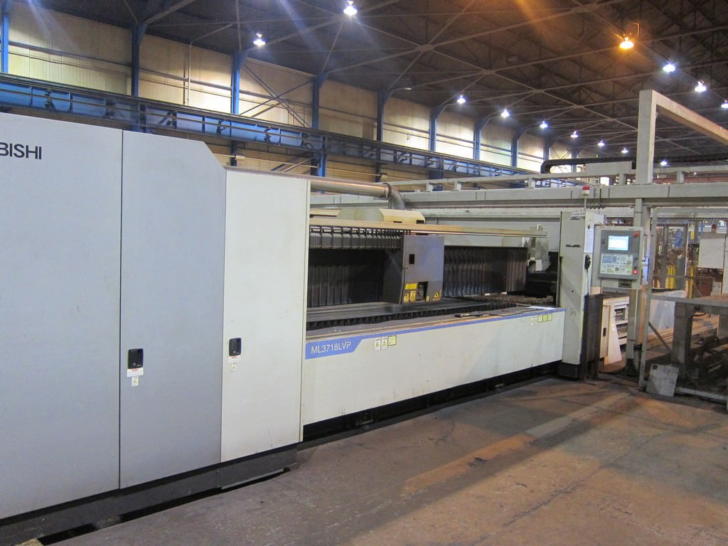 Mitsubishi-ML-3718-LVP-Plus-4000-Watt-CNC-Laser