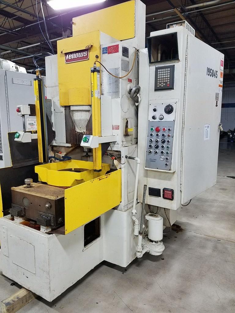FELLOWS 10-2 / 10-4 CNC Gear Shaper-29370a