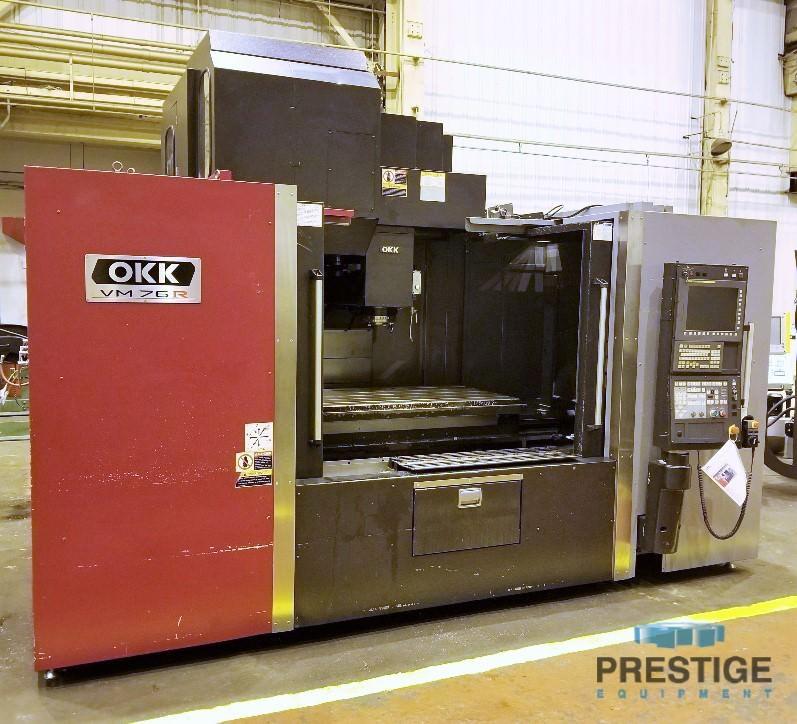 OKK-VM76R-CNC-Vertical-Machining-Center