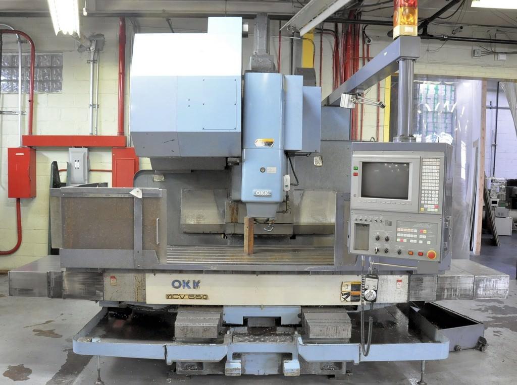 OKK-MCV-660-CNC-Vertical-Machining-Center
