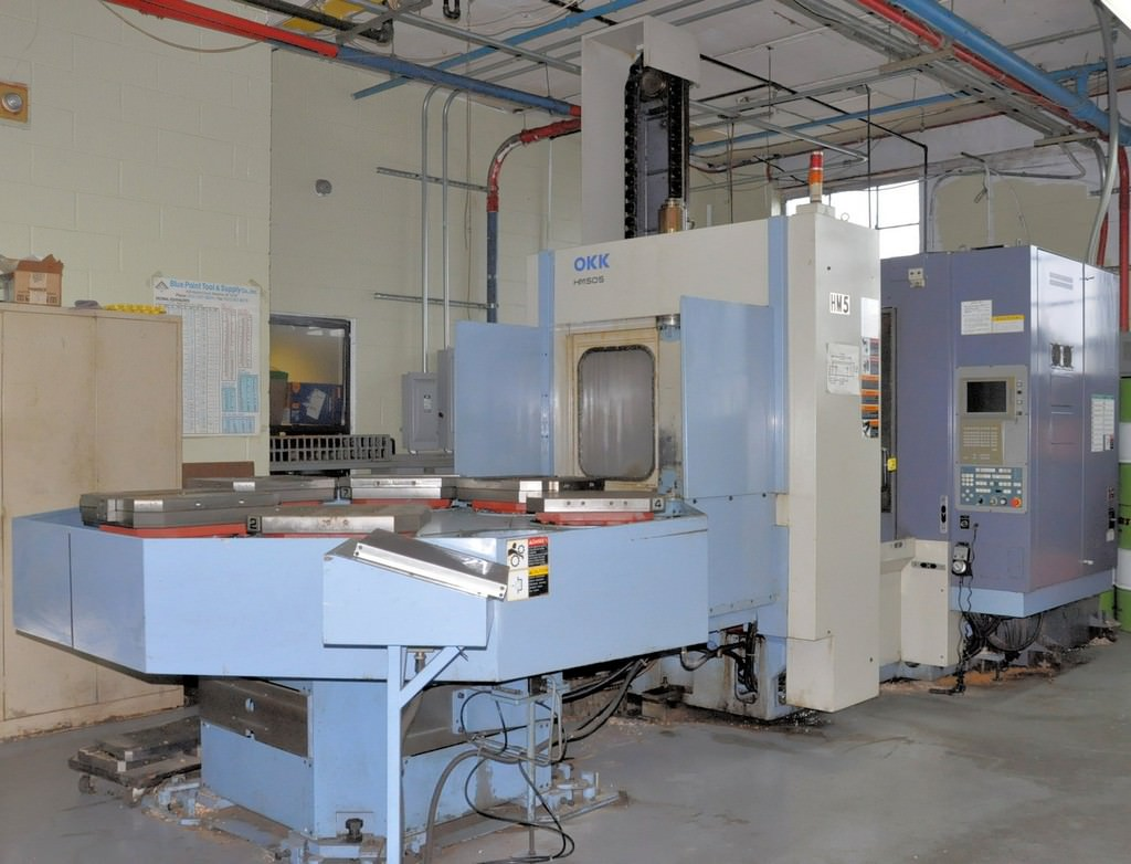 OKK-HM-50S-CNC-Horizontal-Machining-Center