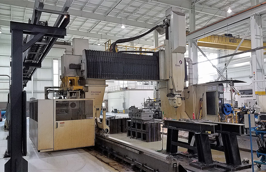 Cincinnati-MAG-U5-1500-CNC-Travelling-Gantry-Rail-Type-Milling-Machine