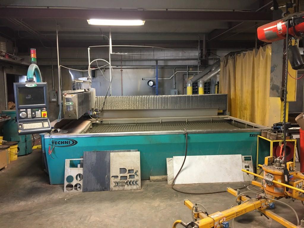Techni-TJ3000-X2-CNC-Abrasive-Water-Jet-Cutting-System