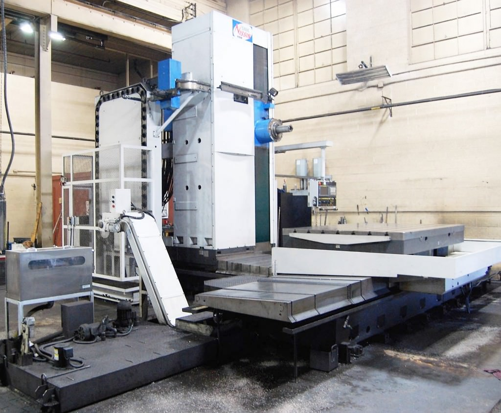 SNK-Nissin-BP130-3.5-5.12-CNC-Table-Type-Horizontal-Boring-Mill