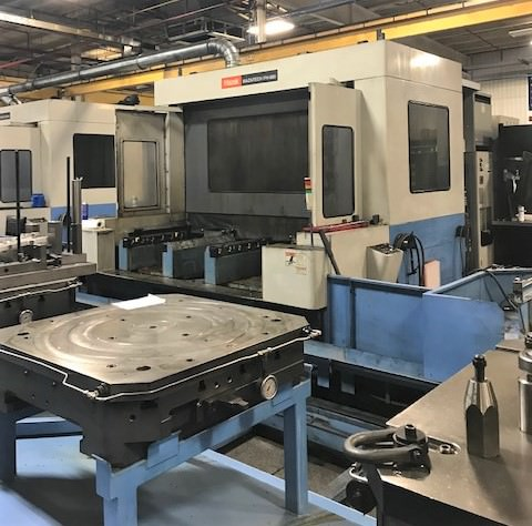 Mazak-FH-880-CNC-Horizontal-Machining-Center-Cell