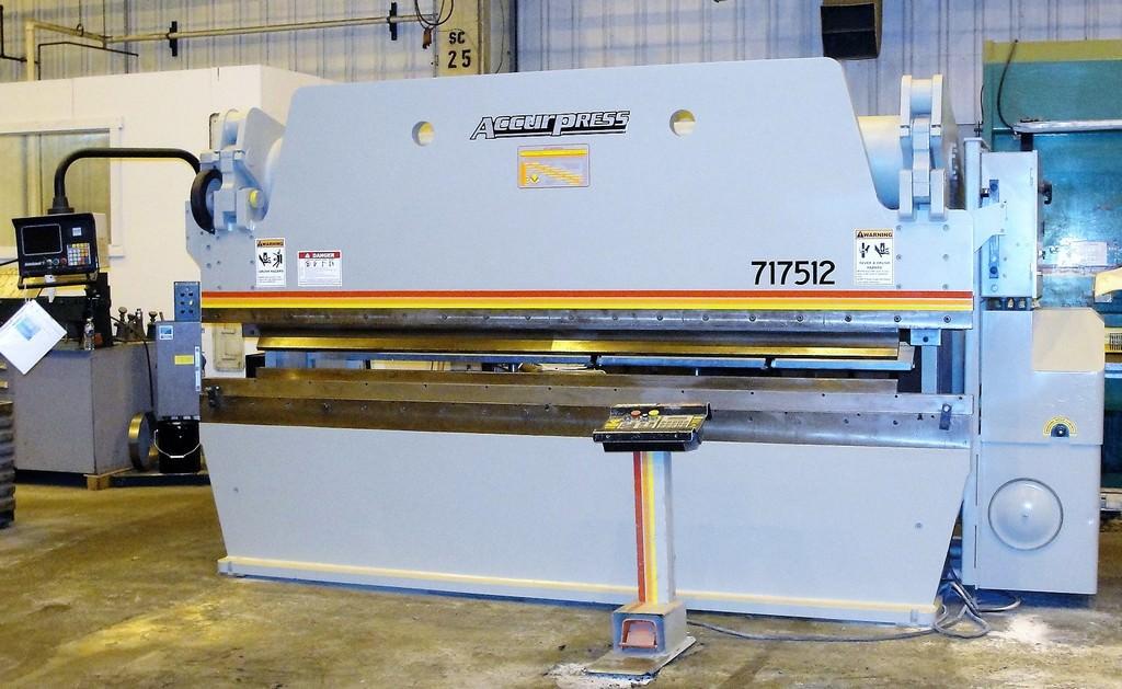 Accurpress 717512 175 Ton x 12' CNC Hydraulic Press Brake