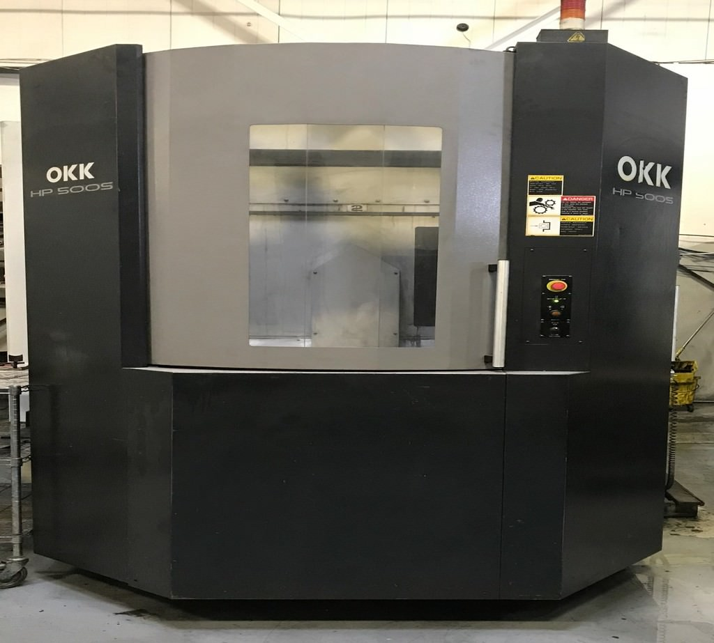 OKK-HP-500S-4-Axis-CNC-Horizontal-Machining-Center