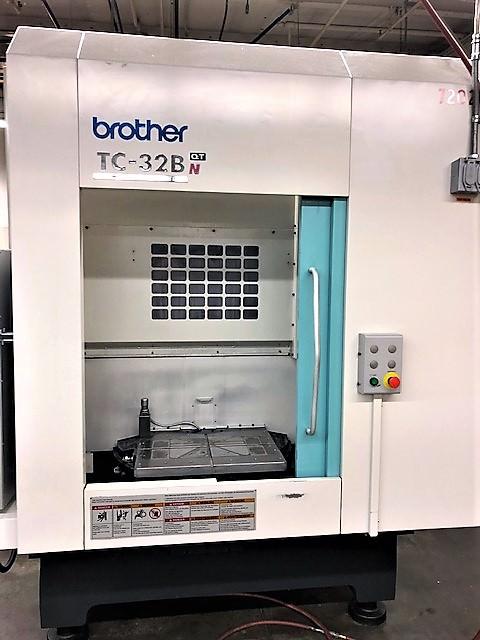 Brother-TC-32BN-QT-CNC-Vertical-Machining-Center