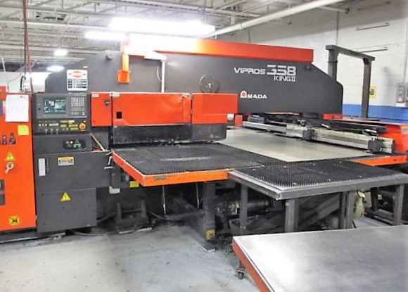Amada-Vipros-358-King-II-CNC-Turret-Punch-Press