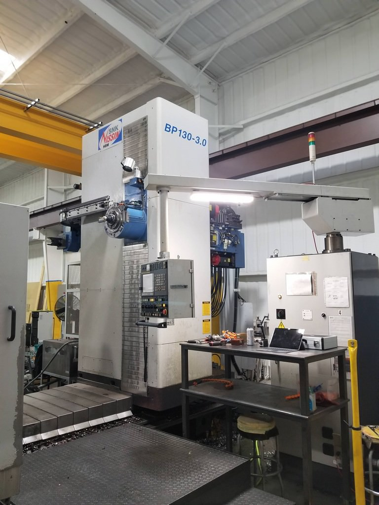 SNK-BP130-3.0-5.12-CNC-Table-Type-Horizontal-Boring-Mill
