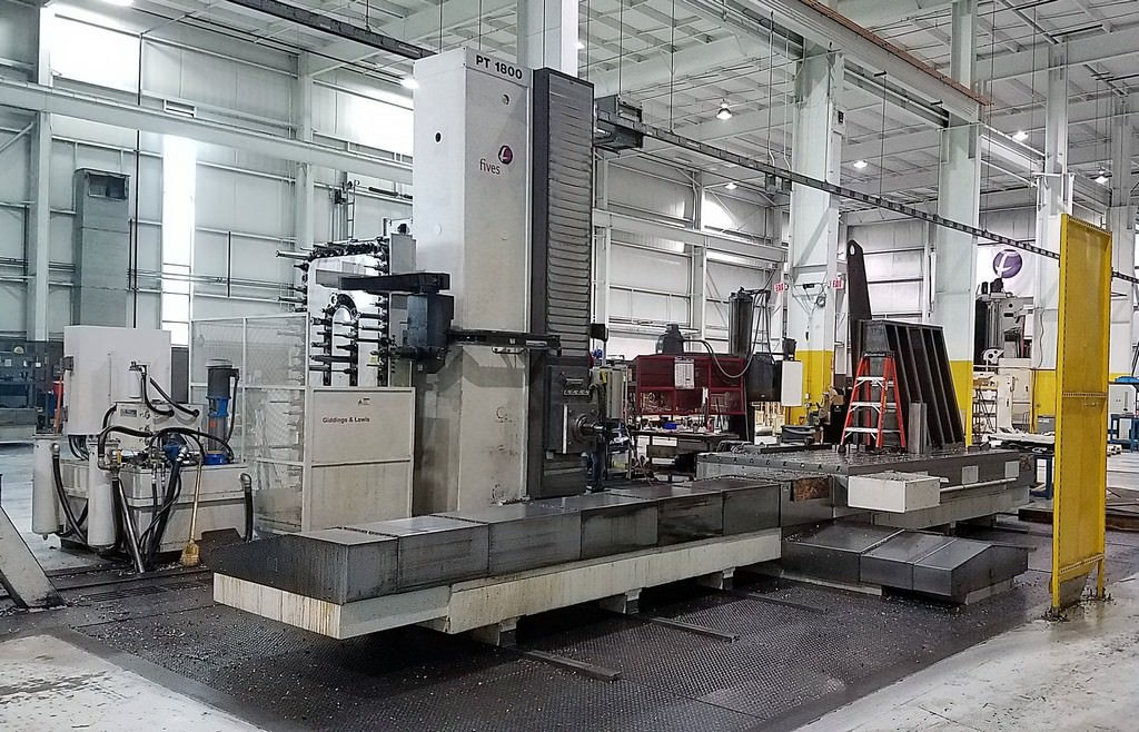 Giddings-&-Lewis-PT1800-6.1-CNC-Table-Type-Horizontal-Boring-Mill