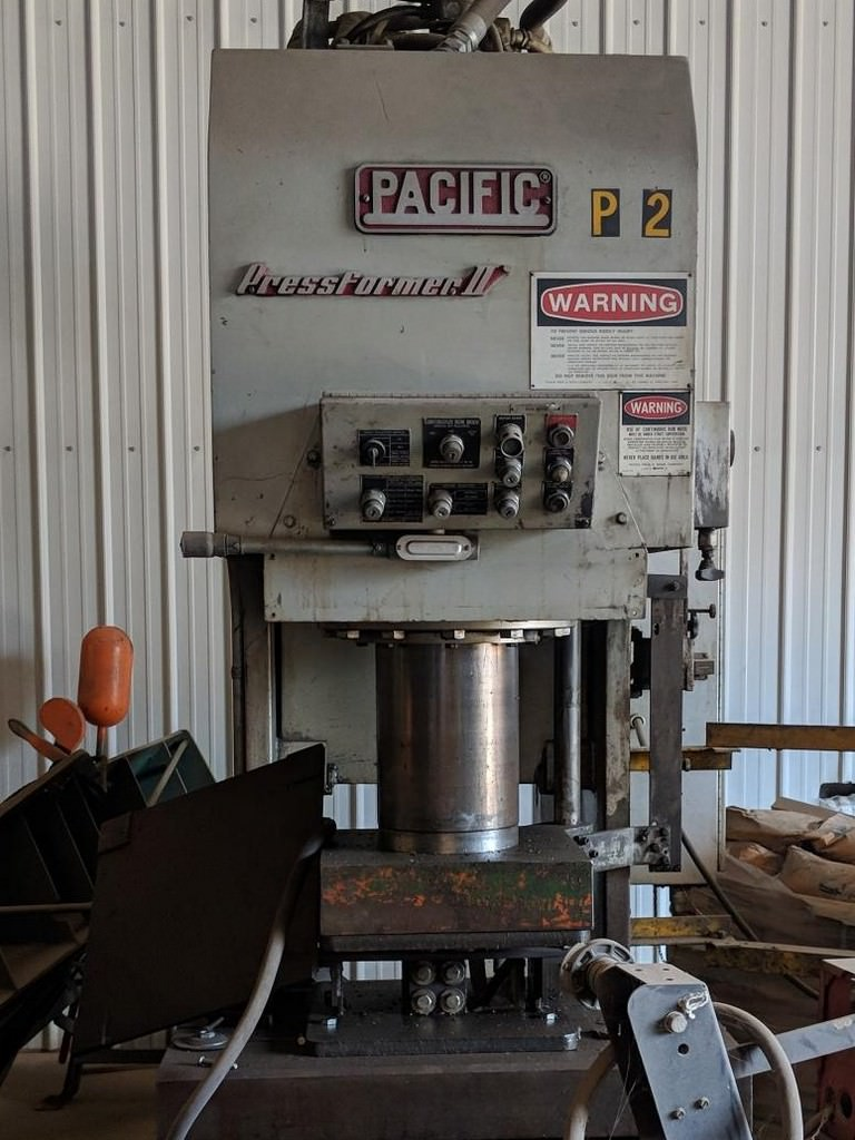 Pacific-150-Ton-PF-II-Hydraulic-Press-Former