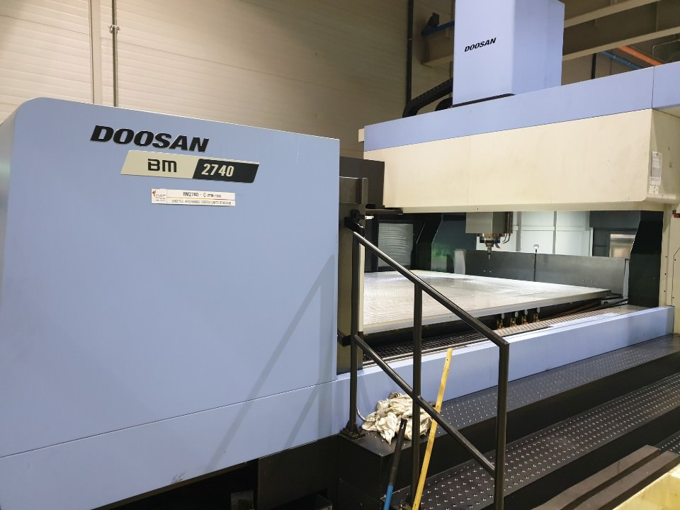 Doosan-BM-2740-CNC-Bridge-Type-Vertical-Machining-Center