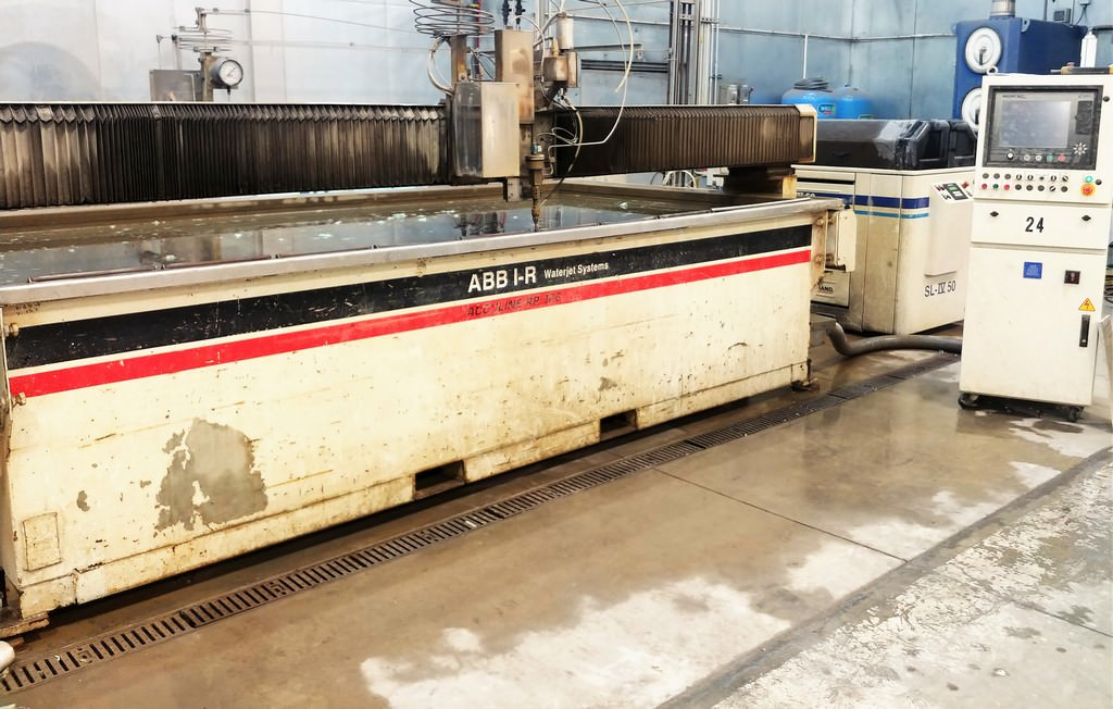 ABB-Ingersoll-Rand-Acculine-RP-126-6x-12-Water-Jet-Cutting-System