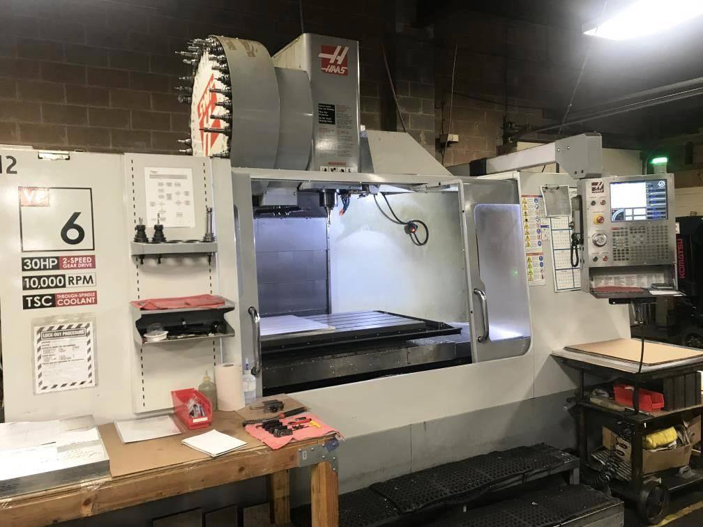 OKK VM7-III CNC Vertical Machining Center - Machining