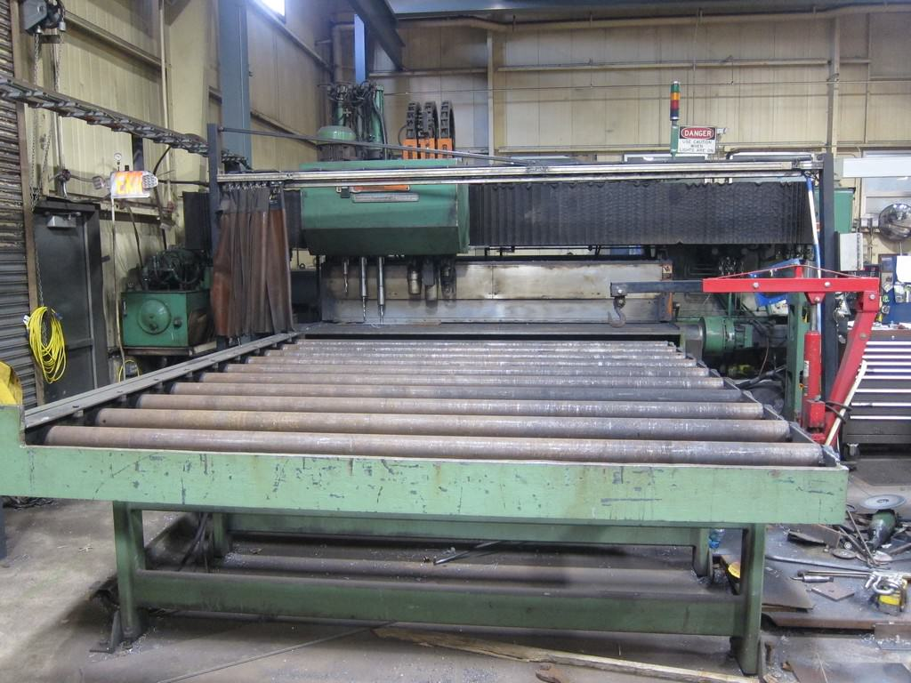 Peddinghaus-CNC-Plate-Drill-With-Oxy-Plasma-Cutting-Torches