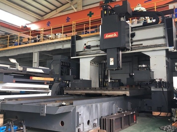 AWEA-LP-4025Z-CNC-Double-Column-5-Face-Machining-Center