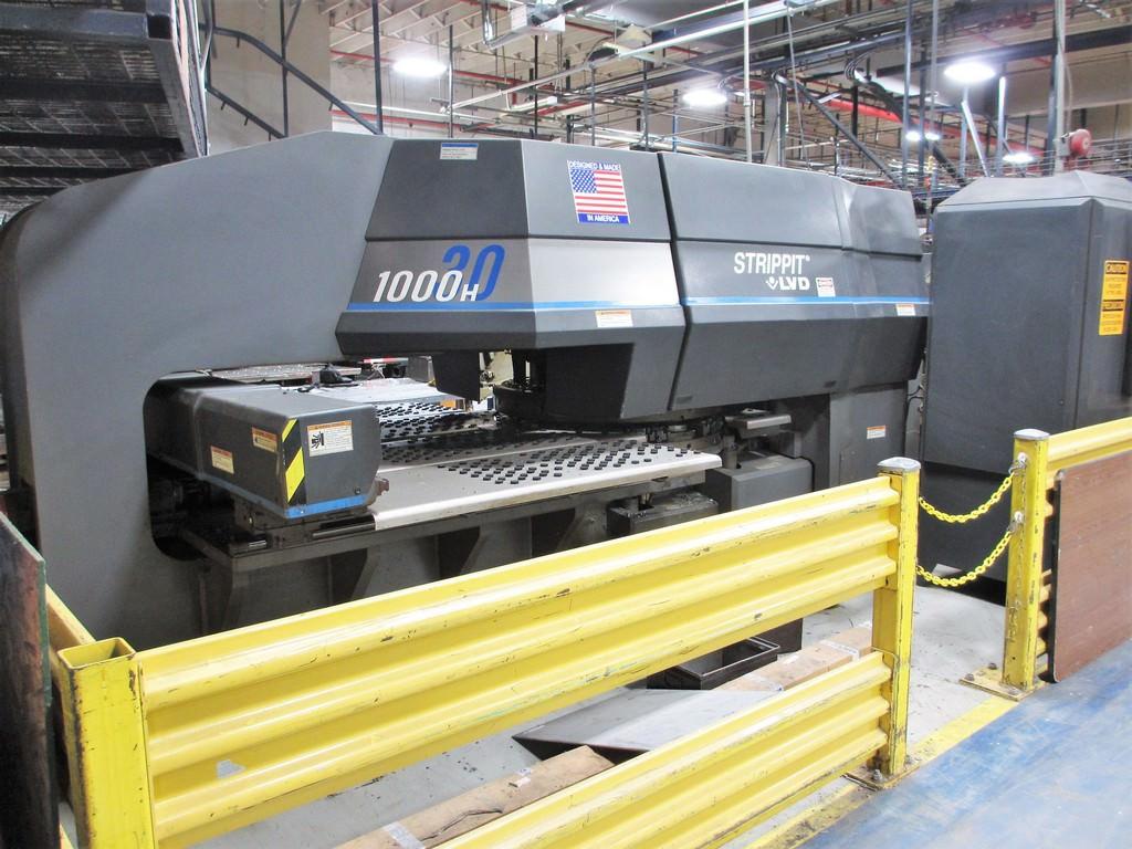 Strippit-LVD-1000H-30-Hydraulic-CNC-Turret-Punch-Press