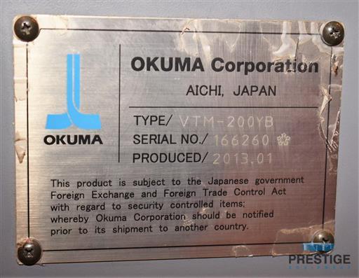 Okuma VTM-200YB 78