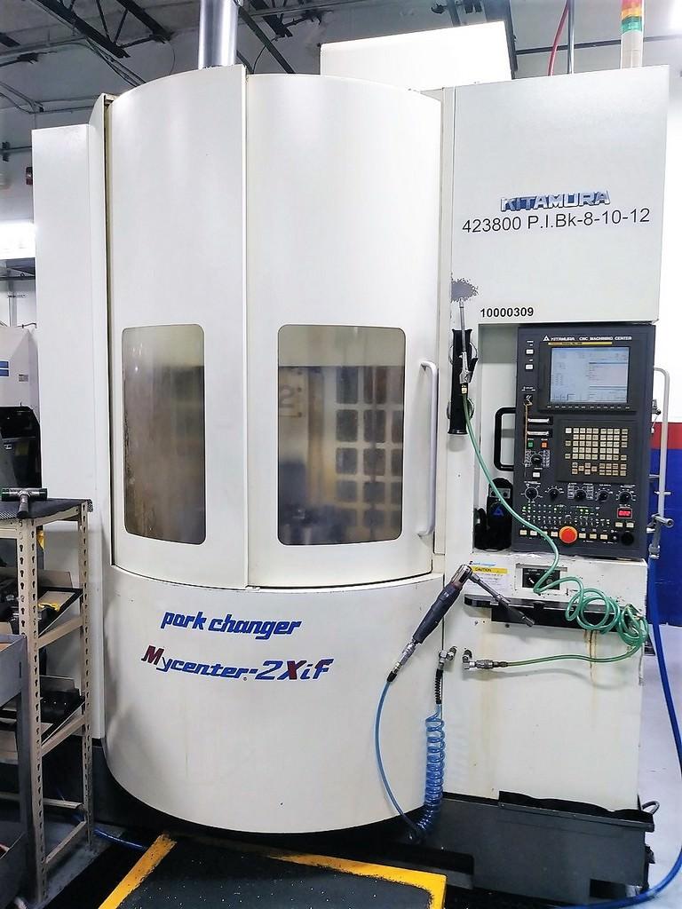KITAMURA-Mycenter-Sparkchanger-2XiF-CNC-Vertical-Machining-Center