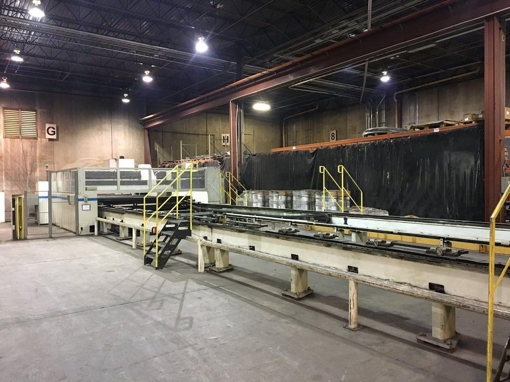 Strippit/LVD 4000 Watt Impuls 125-31 CNC Laser Cutting System-29661b