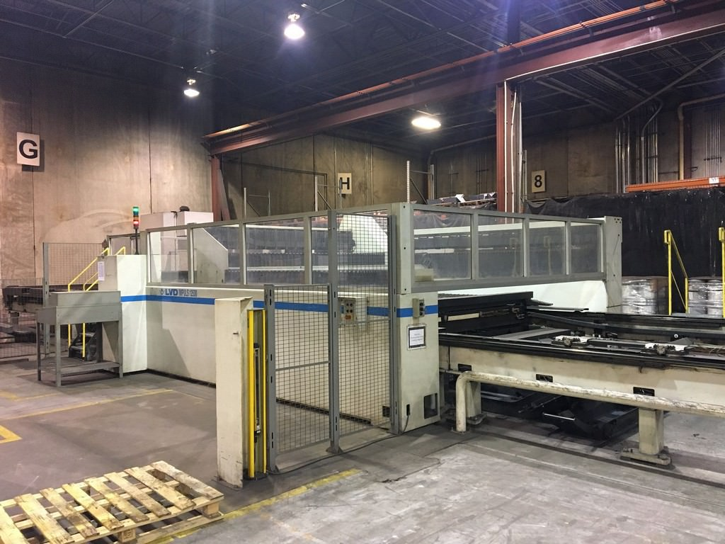 Strippit/LVD 4000 Watt Impuls 125-31 CNC Laser Cutting System-29661h