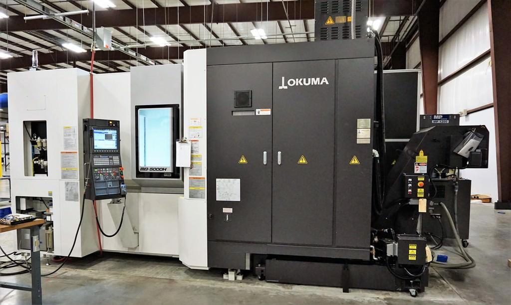 OKUMA-MB-5000H-CNC-4-Axis-Horizontal-Machining-Center