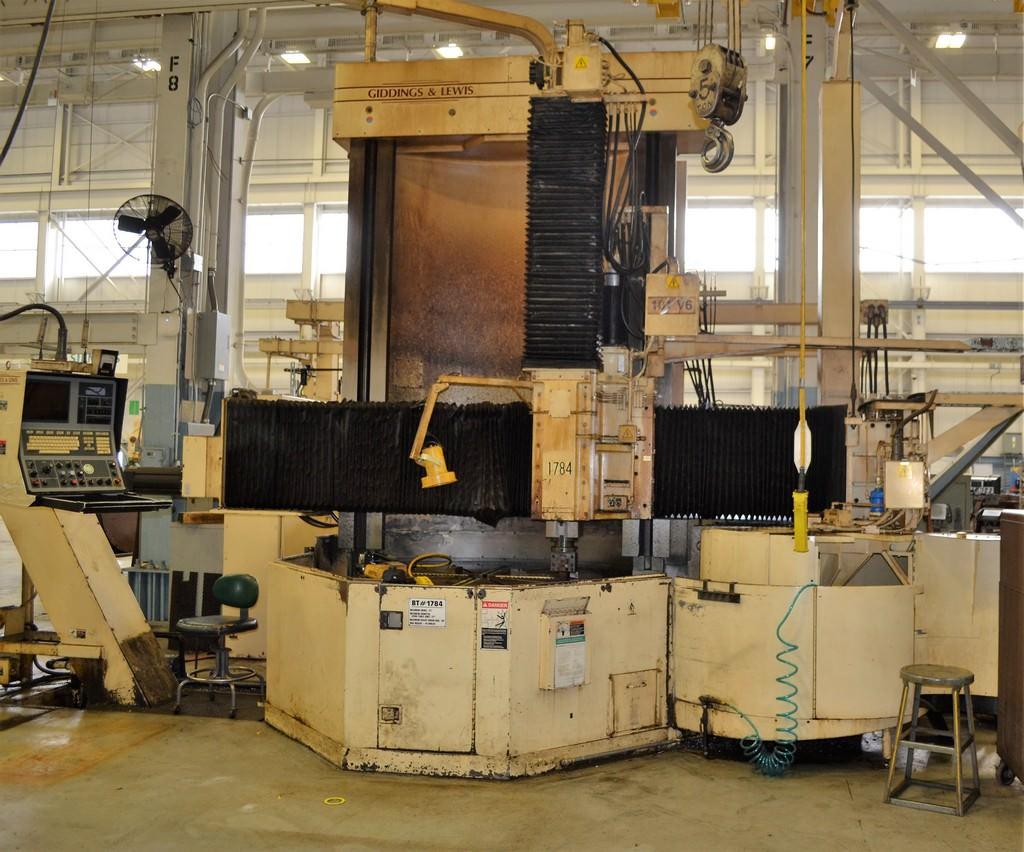 Giddings-&-Lewis-60-CNC-Vertical-Boring-Mill