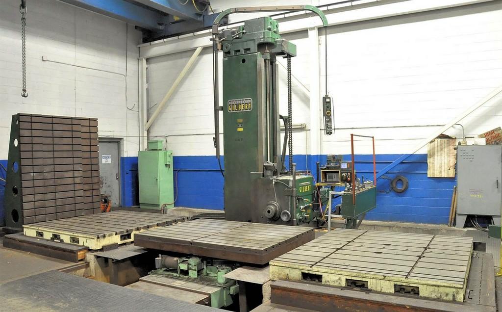 Cincinnati-Gilbert-5-Floor-Type-Horizontal-Boring-Mill
