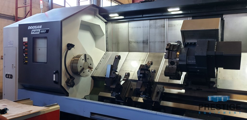 DOOSAN Puma 600LY CNC Turning Center With Live Milling