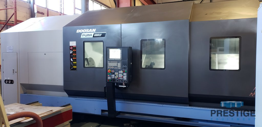 DOOSAN Puma 600LY CNC Turning Center With Live Milling-29698c