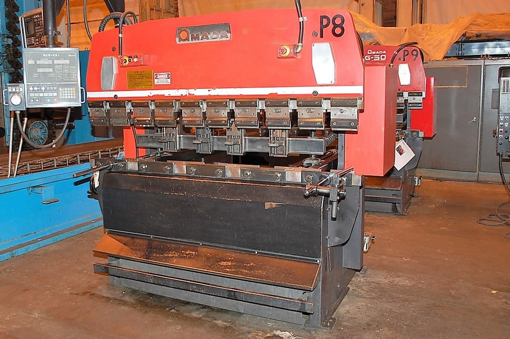 AMADA-RG50-55-Ton-CNC-Up-Acting-Hydraulic-Press-Brake