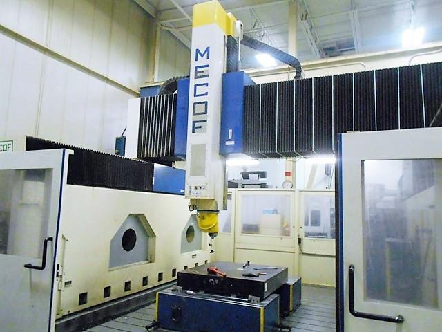 MECOF-5-Axis-CNC-Traveling-Gantry-Bridge-Mill