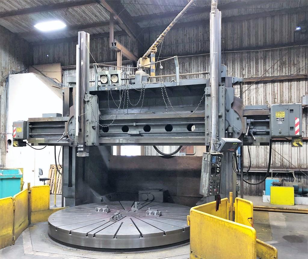 Farrel-(Betts)-144-Vertical-Boring-Mill