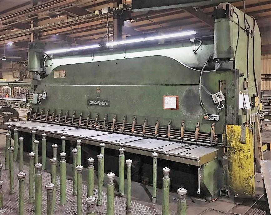 Cincinnati-5FLS20-5-8-x-240-Hydraulic-Squaring-Shear