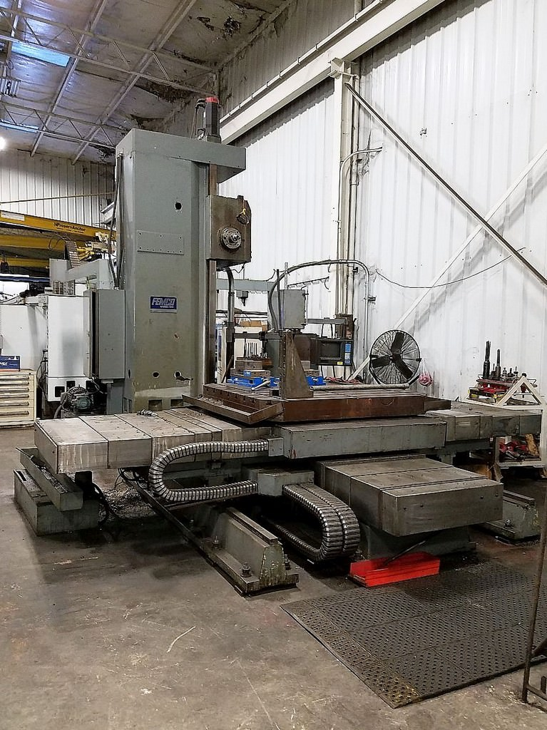 FEMCO-WBMC-100-3.94-CNC-Table-Type-Horizontal-Boring-Mill