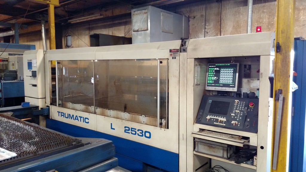 Trumpf-3000-Watt-L-2530-CNC-Flying-Optic-Laser