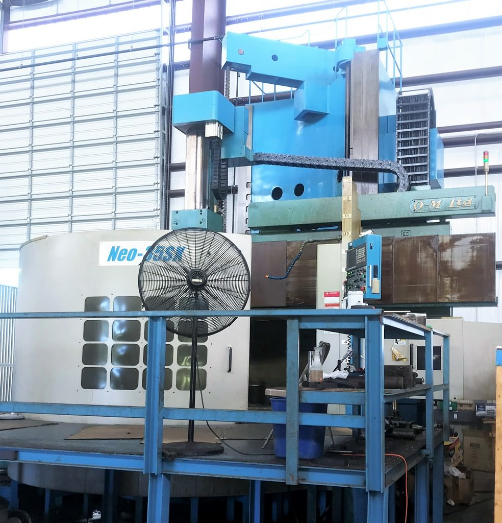O-M-Ltd.-Neo-35SX-110-CNC-Vertical-Boring-Mill