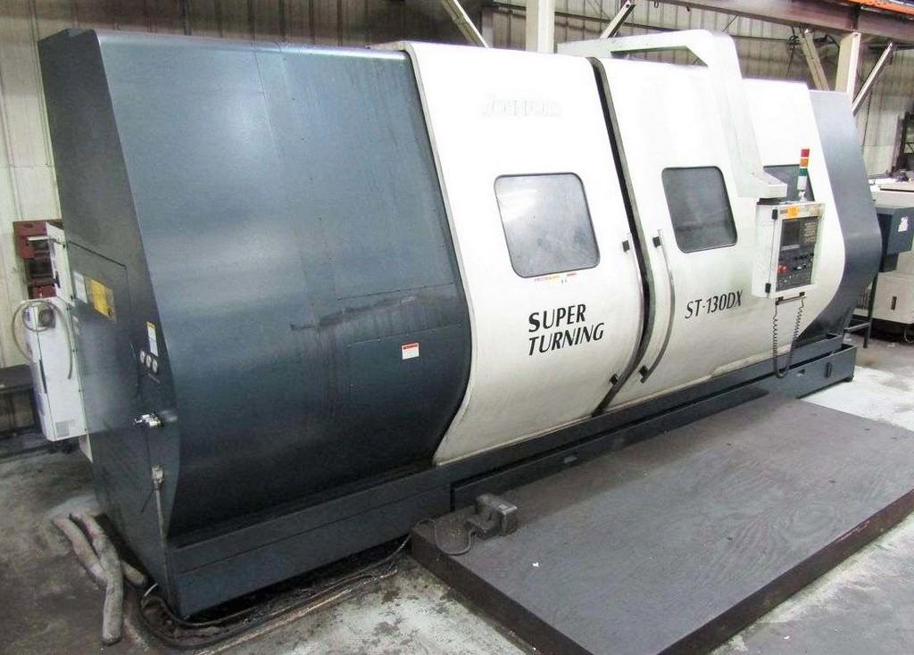 JOHNFORD-ST-130DX-Large-Capacity-CNC-Slant-Bed-Lathe