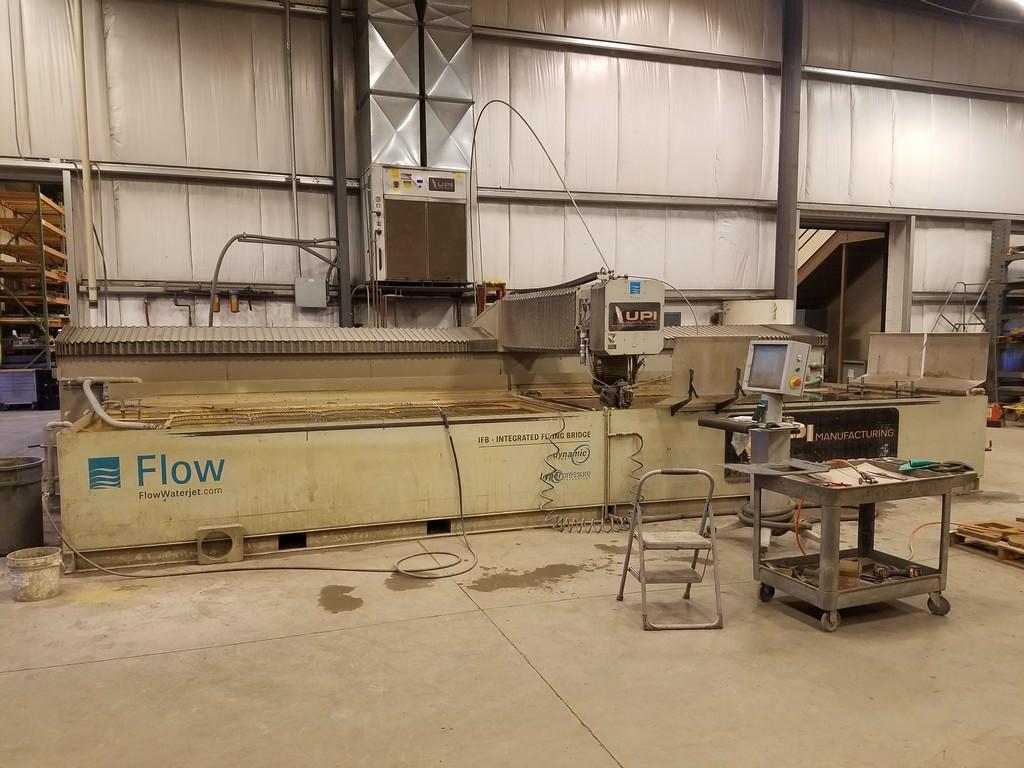 Flow IFB 6' x 24' CNC Water Jet Cutting System