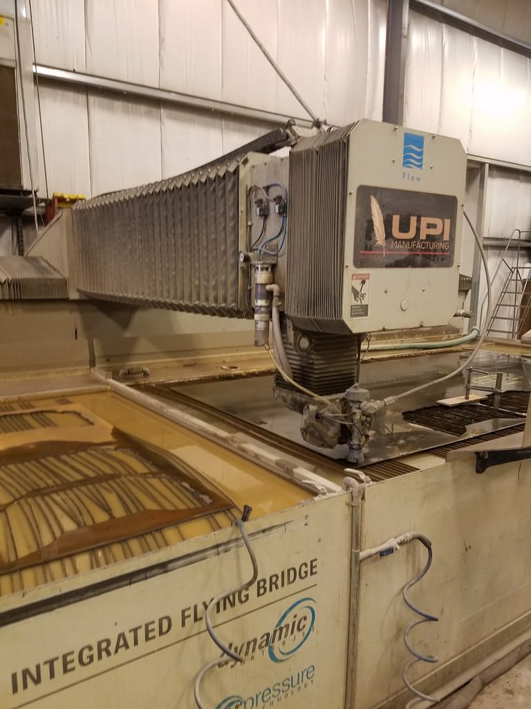 Flow IFB 6' x 24' CNC Water Jet Cutting System-29846a