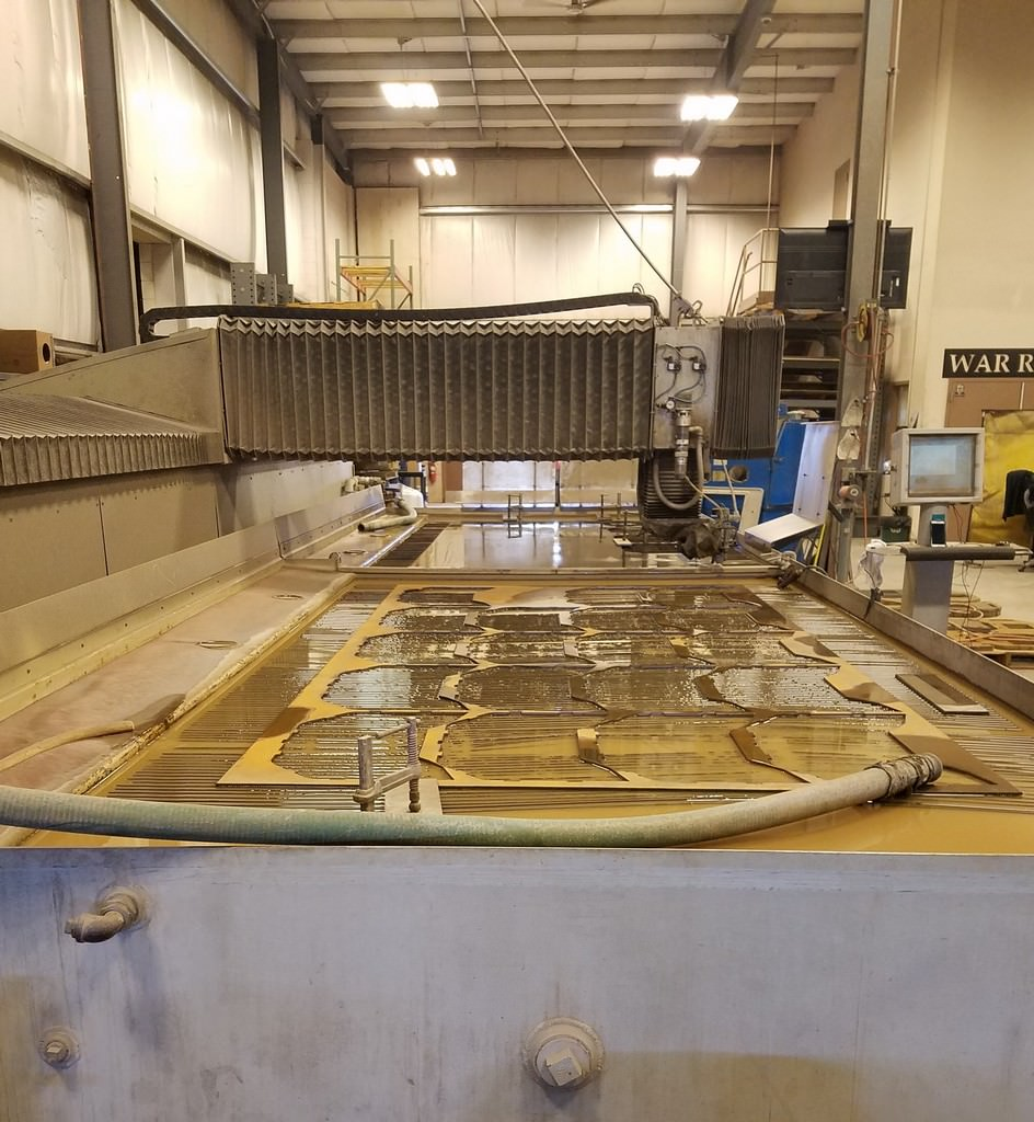 Flow IFB 6' x 24' CNC Water Jet Cutting System-29846b