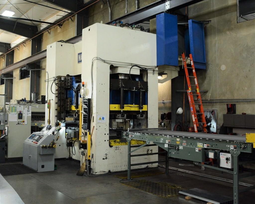 Macrodyne-Model-MPZ1500-1500-Ton-Hydraulic-Press