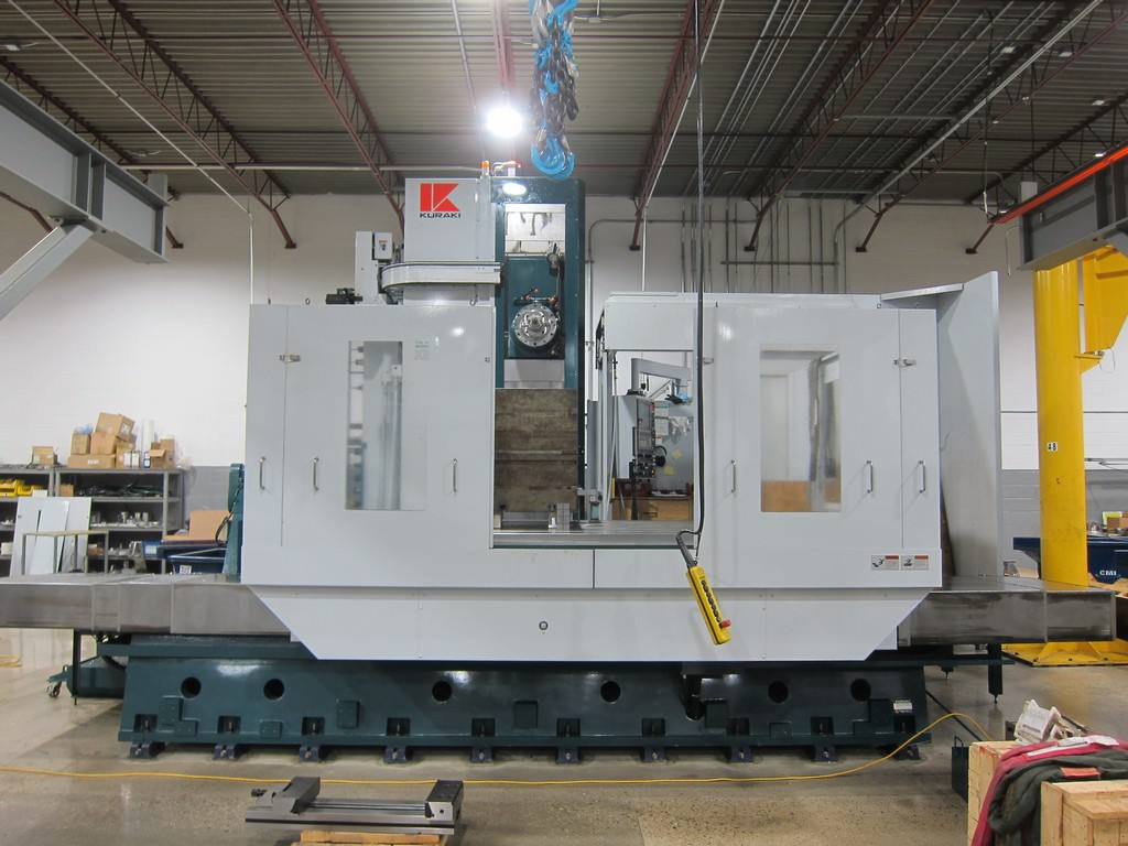 Kuraki-KBT-13A-5.12-CNC-Table-Type-Horizontal-Boring-Mill