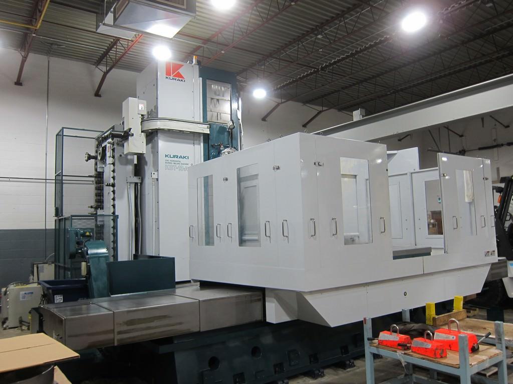Kuraki-KBT-13A-5.12-CNC-Table-Type-Horizontal-Boring-Mill